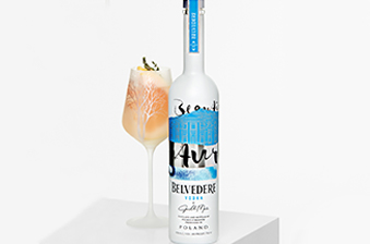 Belvedere bottle and cocktail