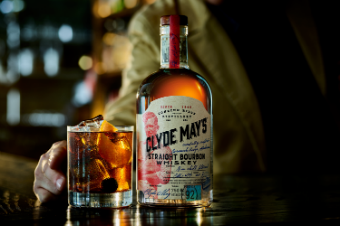 Clyde Mays Bourbon Whiskey