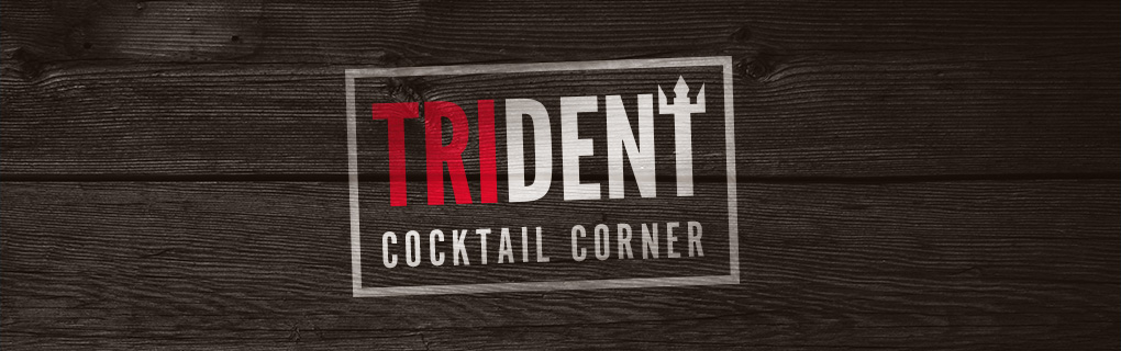 Trident Cocktail Corner Logo Header