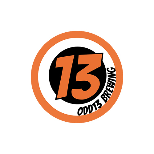 odd 13 brewing logo