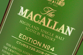 The Macallan Edition No. 4 label