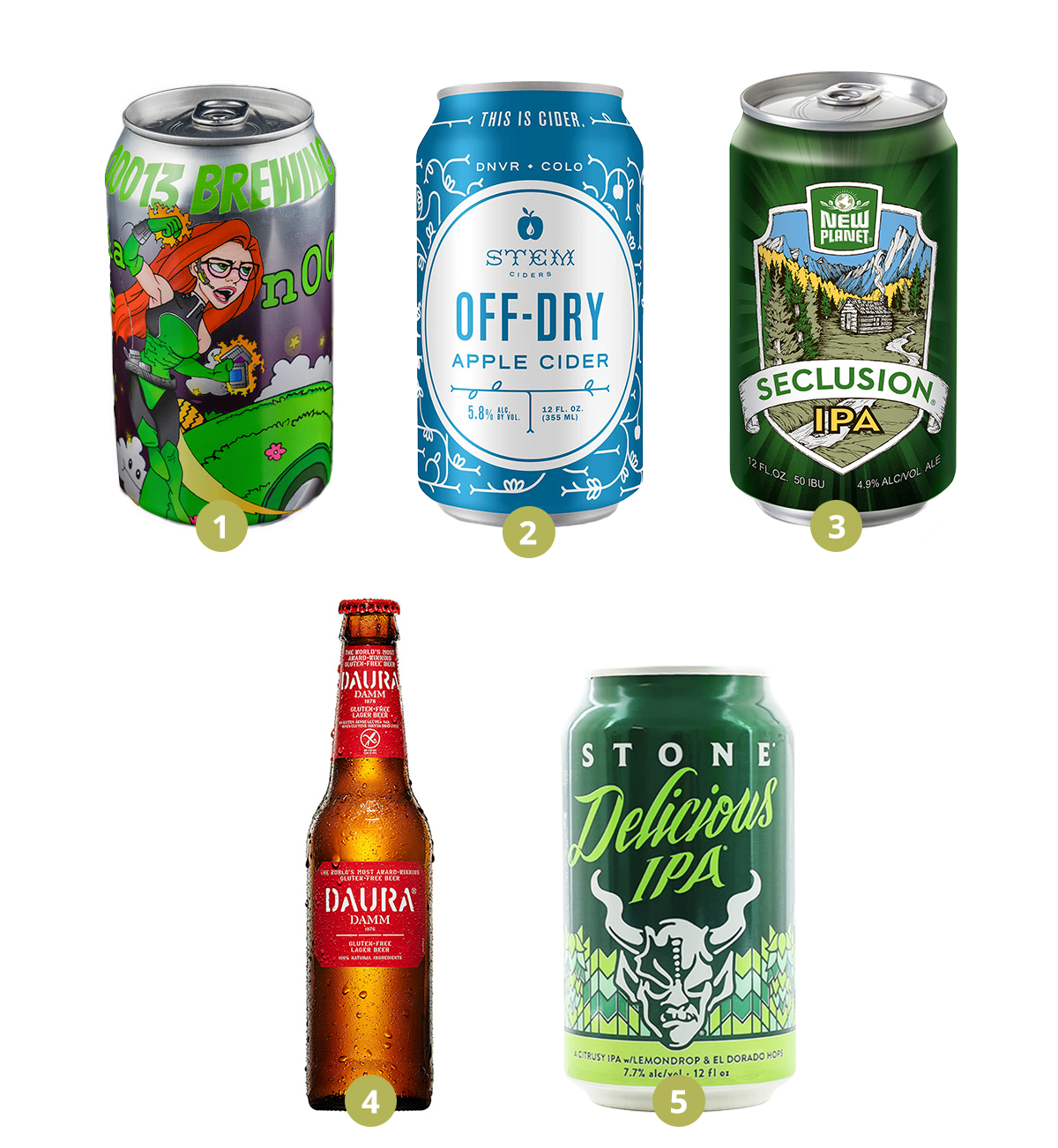 Cider and Gluten-Free Beer in your market
