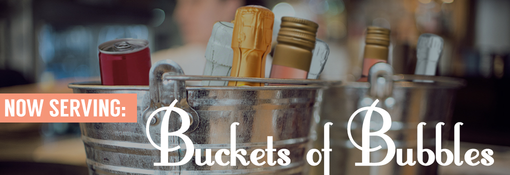 Buckets of Single Serve Wine