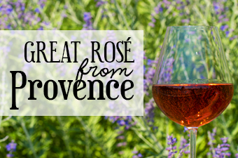 Great Rosé from Provence