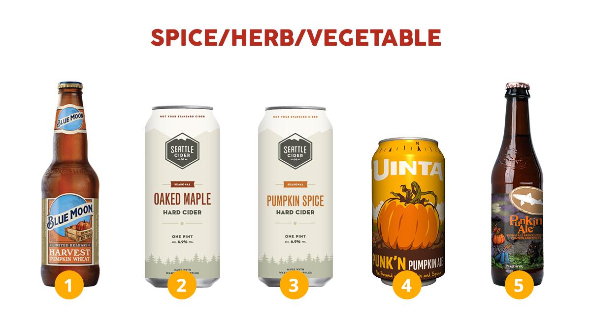 2018 Fall Seasonal Beer and Cider - Breakthru Beverage Group