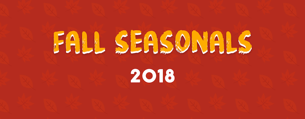 Fall Seasonal Beers 2018