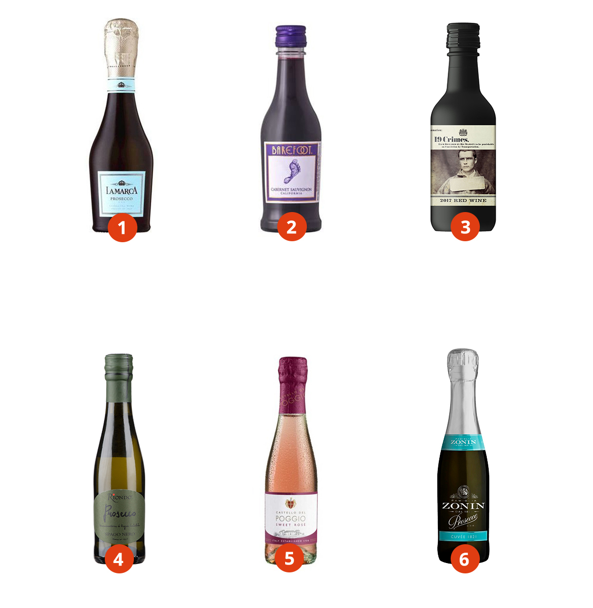 Single serve wines in your market!
