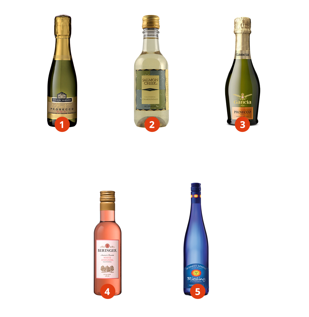 Single serve wines in your market.