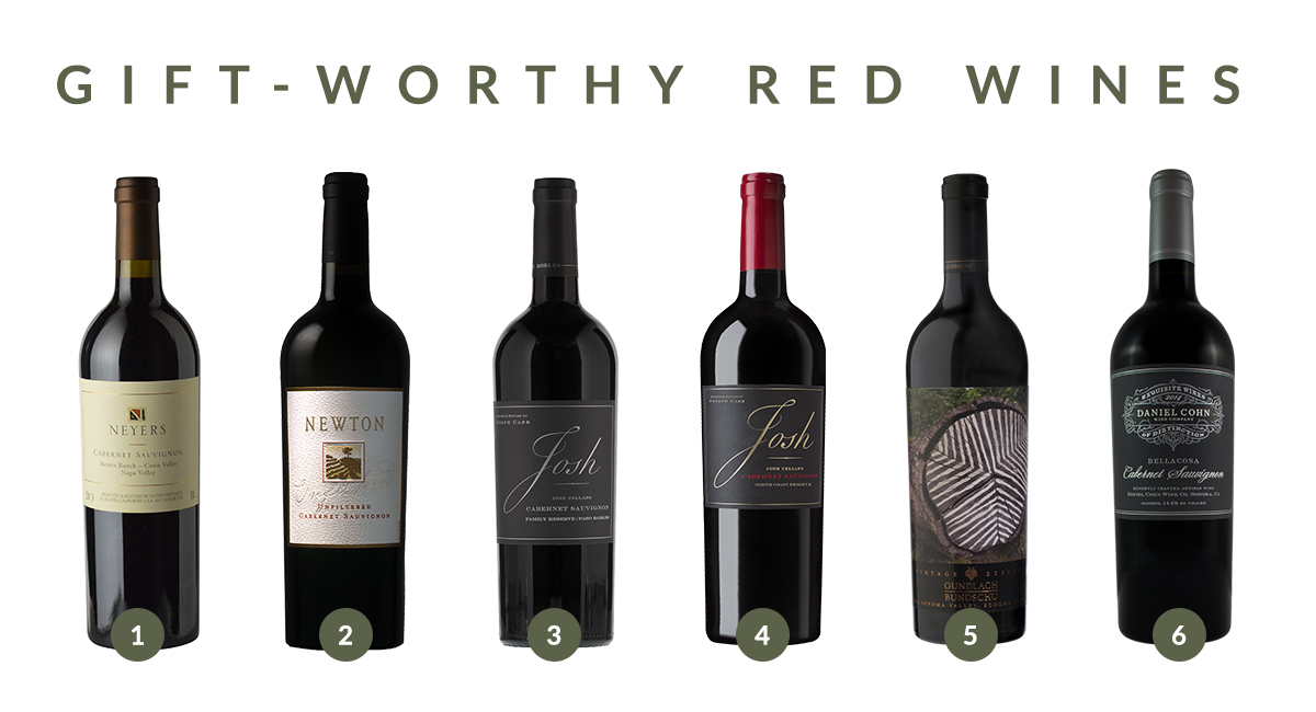 Gift Worthy Red Wines