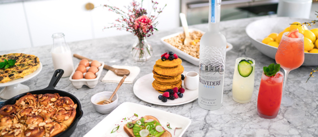 Belvedere Celebrates the Art of Brunch with Cocktails and Food Pairings