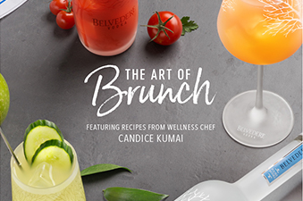 Belvedere Vodka: The Art of Brunch featuring recipes from wellness chef Candice Kumai