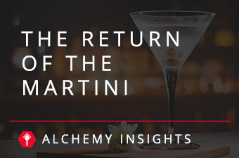 the return of the martini