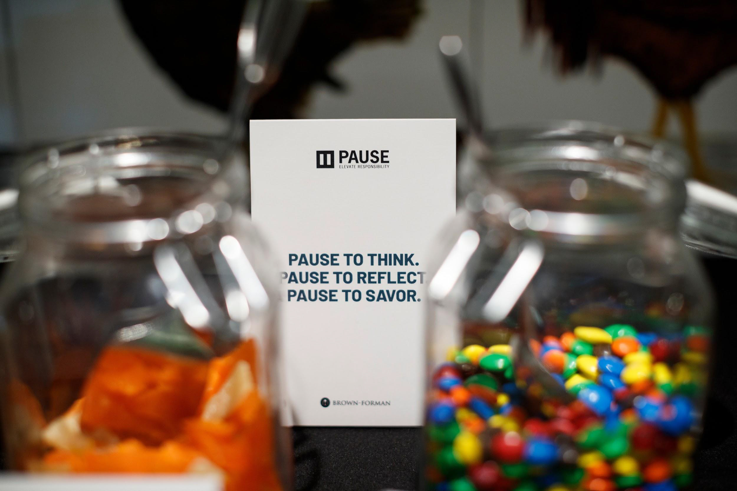 PAUSE events