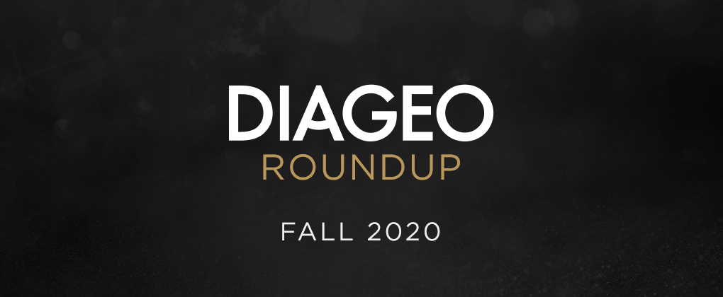 diageo roundup fall 2020 header image