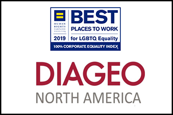 Diageo North America Named Best Places to Work HRC