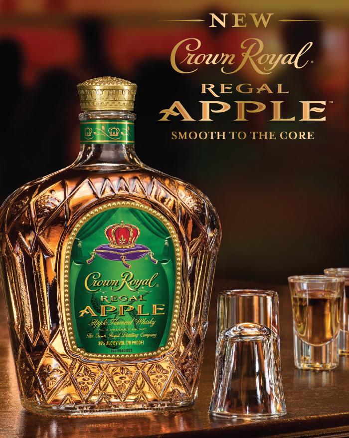 apple flavored liquor
